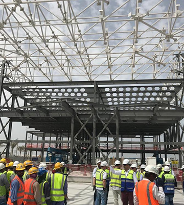 Australian pavilion construction Progress at EXPO 2020 Dubai